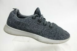 ALL BIRDS Wool Runners Grey Sz 12 Men Running Shoes $34.64