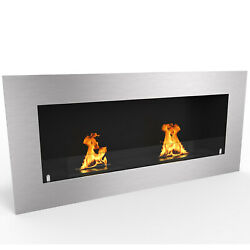 Regal FlameWarren 42quot; Pro Ventless Built In Recessed Bio Ethanol Wall Fireplace $439.99