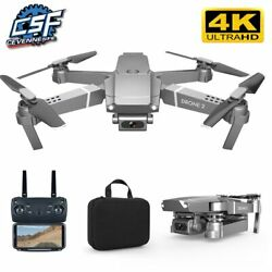 2021 NEW E68 Drone HD wide angle 4K WIFI 1080P FPV Drones video live Recording Q $46.12