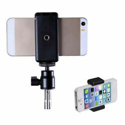 Universal Cell Phone Selfie Sticks Adapter Holder Clip Tripod Mount for iPhone $1.59