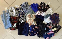 Large Lot of 24 Women#x27;s Designer Clothing Tops amp; Dresses ALL NWT Size L M LP MP