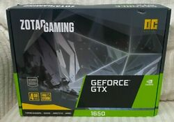 ZOTAC ZT T16520F 10L GAMING GeForce GTX 1650 OC 4GB GDDR6 Gaming Graphics Card $420.00