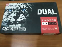 OPEN BOX ASUS AMD Radeon RX 580 4GB GPU VRAM Graphics Card PC Gaming $399.97