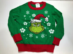 Dr. Suess How the Grinch Stole Christmas Kids 5T sweater $15.00