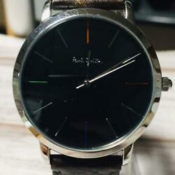 Paul Smith MA Wristwatch Formal for Men Replaced with new batteries $148.00