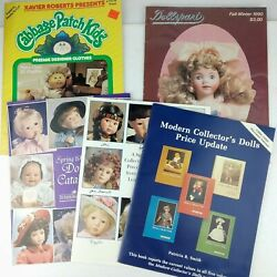 1984 CABBAGE PATCH KIDS Preemie Designer Clothes Sewing Pattern Book 4 Catalogs