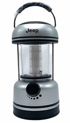 JEEP LED Camping Hunting Outdoors Lantern Used Tested Works Great $23.74