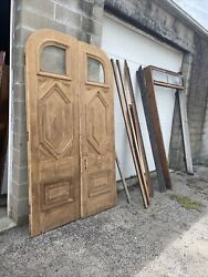 Bova 59 Pair Double Doors Antique With Frame 56 X 95.5 $3800.00