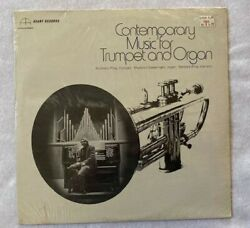 Contemporary Music For Trumpet and Organ Anthony Plog LP Avant Records MINT $11.99