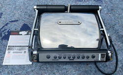 All Clad Metalcrafters Electric Indoor Grill Autosense 8358S1 Table Counter Top $44.00