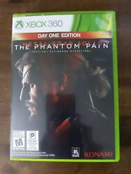 USED VG Metal Gear Solid V: The Phantom Pain Day One Edition Xbox 360 $13.95