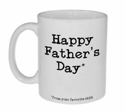 Happy Father#x27;s Day From Your Favorite Child Father#x27;s Day Gift Unique Coffee $12.99