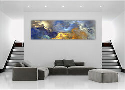 Abstract Cloud Canvas Painting Wall Art Home Decor Print Unframed 24quot; x 72quot; $23.95