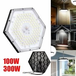 100W 300W LED High Bay Light Warehouse Ceiling Fixture Factory Commercial Lights