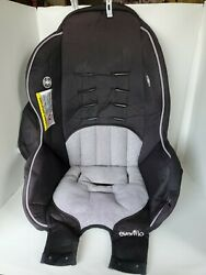 Evenflo Tribute Booster Gray Black Car Seat Fabric Cover Cushion #38111479 $11.25