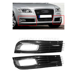 Front Lower Bumper Fog Light Lamp Cover Grille fit for 2008 2009 2010 Audi A8 D3 $40.04