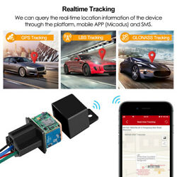 Anti theft GPS Car Tracker Real Time Device Locator Remote Control Hidden 10 40V $16.73