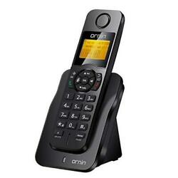 D1005 Cordless Desk Telephone for Home and Office Use ECO Single Pack Black $42.80