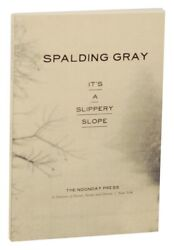 Spalding GRAY IT#x27;S A SLIPPERY SLOPE 1st Edition 1997 #158284 $28.75