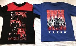 Lot of 2 Boys STAR WARS short Sleeved T Shirts Size 8 $12.99