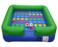 Commercial Outdoor Inflatable X Treme Twister Game With Accessories With Blower
