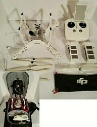 DJI Phantom 3 Advanced Quadcopter Camera Drone White With Manfrotto Backpack $699.00