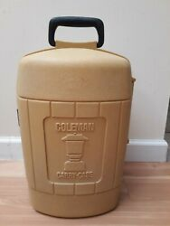 Coleman Lantern Carry Case...Gold...Dated 3 78 $35.00