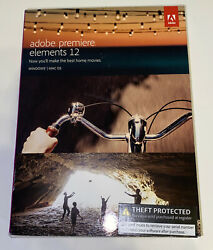 Adobe Premiere Elements 12 for PC or MAC New Sealed $45.00