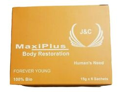 MAXI PLUSBODY RESTORATION FOR MEN AND WOMAN FOREVER YOUNG 100% Energy Boost $50.00