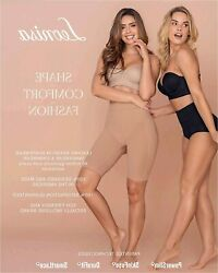 Leonisa Tummy Control Shaper Short for Women with Brown Size X Large XX Large $11.20