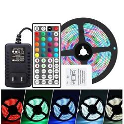 LED Strip Light RGB Background Decorative Lamp with 44 Key Remote Control US $27.99