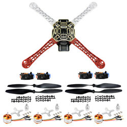 Qwinout F450 4 Axis Quadcopter Frame Kit with 2 4S 30A ESC amp; 1000KV Motor amp; Prop $68.98