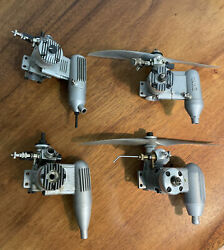 Vintage Airplane Gas Remote Control Motors all different sizes $350.00