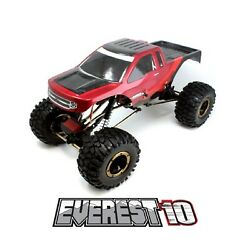Redcat EVEREST 10 RB Red Black Everest 10 1 10 Scale Electric RC Rock Crawler $169.99