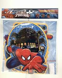 Pack Of 3 Marvel Spiderman Soft amp; Washable Foam Wall Decorations Peel and Place $10.99