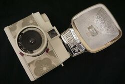 Diana Mini with F flash 35mm toy cameras $59.00