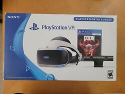 Sony VR PSVR PlayStation Bundle CUH ZVR2 MANY EXTRAS Games controllers $350.00