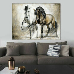 HORSE ABSTRACT CANVAS WALL ART PAINTING PICTURES HOME HANGING POSTERS HOME DECOR $13.95