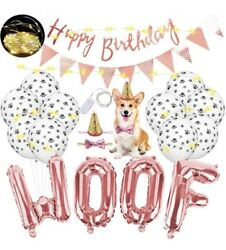 Dog Birthday Party Supplies Pet Birthday Party Decorations $12.10
