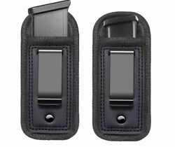 2 Pack Universal Holster IWB Clip Fits Any 7 10 15 Round Clips .40 9mm .45 .22 $11.49