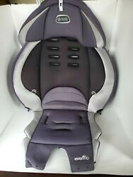 Evenflo Maestro Booster Gray Black Car Seat Fabric Cover Cushion Padding Part. $18.00