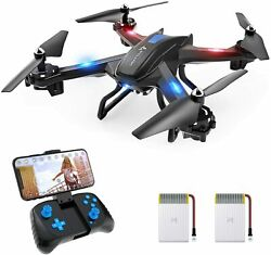 SNAPTAIN S5C WiFi RC Drone 720P Camera FPV Quadcopter Altitude Hold VoiceControl $34.29