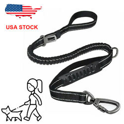 Retractable Nylon Puppy Rope Dog Leash Tactical for Large dog Heavy Duty Coupler $11.68