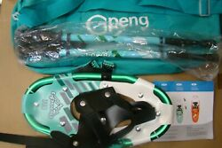 Gpeng 714 3 in 1 Lightweight Snowshoes for Women Youth Aluminum Terrain 14quot; $55.00