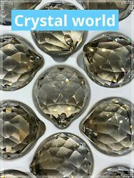 SET of 5 40mm Asfour HONEY Crystal Ball #701 Prisms Chandelier Crystal Parts $25.76