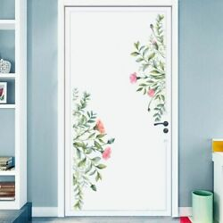 Wall Stickers Flowers Green Leaf Removable Vinyl Decal Self Adhesive Mural Decor $19.99