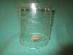 Clear Coleman Globe w Red Letters Used For 220 228 Lanterns w # 6 2 $30.00