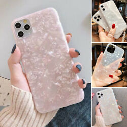 For iPhone 12 Pro Max 11 7 8 XR XS Max Cute Bling Case Soft Marble Cover Girls $7.92