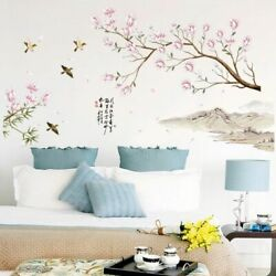 Wall Stickers Flowers Removable Window Vinyl Bedroom Living Room Art Decal Decor $23.49