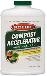 Roebic Laboratories Ca 2.5 12 2 1 2 Pound Bacterial Compost Accelerator 2 Pack $57.11